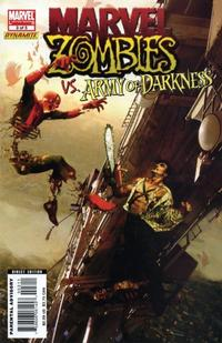 Cover Thumbnail for Marvel Zombies / Army of Darkness (Marvel / Dynamite Entertainment, 2007 series) #3