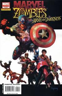 Cover Thumbnail for Marvel Zombies / Army of Darkness (Marvel / Dynamite Entertainment, 2007 series) #4