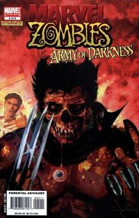 Cover Thumbnail for Marvel Zombies / Army of Darkness (Marvel / Dynamite Entertainment, 2007 series) #5