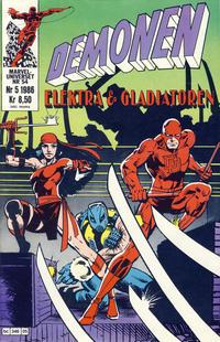 Cover Thumbnail for Demonen (Semic, 1986 series) #5/1986