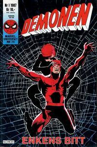 Cover Thumbnail for Demonen (Semic, 1986 series) #1/1987