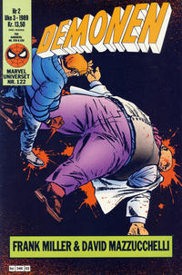 Cover Thumbnail for Demonen (Semic, 1986 series) #2/1989