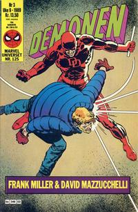 Cover Thumbnail for Demonen (Semic, 1986 series) #3/1989