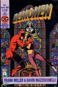 Cover Thumbnail for Demonen (Semic, 1986 series) #4/1989