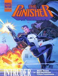 Cover Thumbnail for Marvel Graphic Novel: The Punisher: Intruder (Marvel, 1989 series)