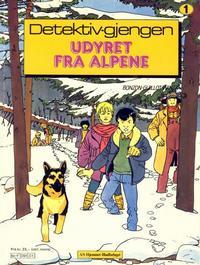 Cover Thumbnail for Detektiv-gjengen (Hjemmet / Egmont, 1984 series) #1 - Udyret fra alpene