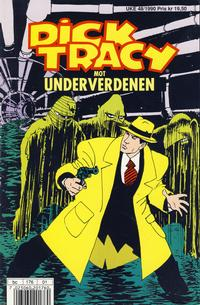 Cover Thumbnail for Dick Tracy mot underverdenen (Hjemmet / Egmont, 1990 series)