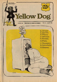 Cover Thumbnail for Yellow Dog (The Print Mint Inc, 1968 series) #6 [First Printing]