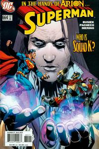 Cover for Superman (DC, 2006 series) #664