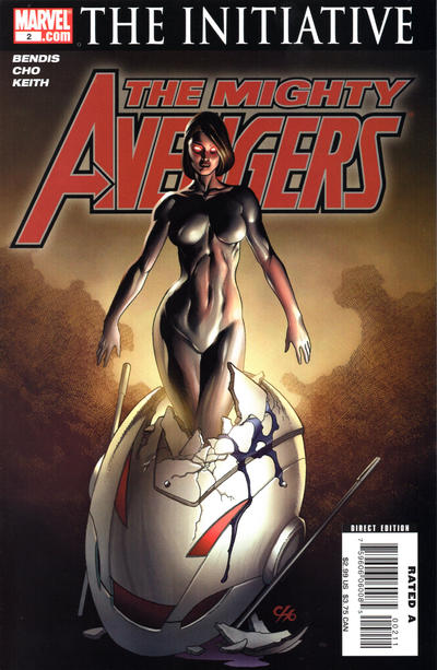 Cover for The Mighty Avengers (Marvel, 2007 series) #2