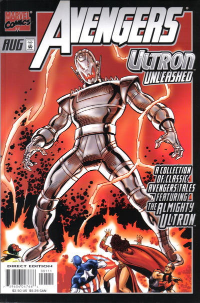 Cover for Avengers: Ultron Unleashed (Marvel, 1999 series) #1