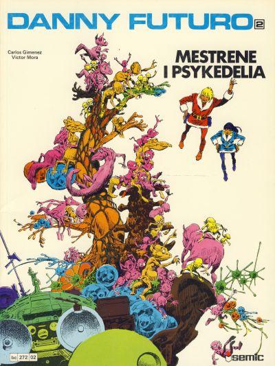 Cover for Danny Futuro (Semic, 1980 series) #2