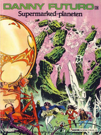 Cover for Danny Futuro (Semic, 1980 series) #3
