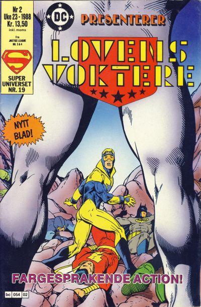 Cover for DC presenterer (Semic, 1988 series) #2/1988