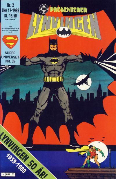 Cover for DC presenterer (Semic, 1988 series) #2/1989