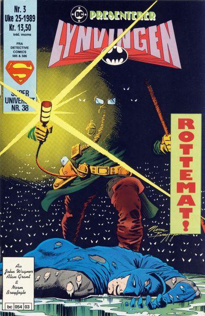 Cover for DC presenterer (Semic, 1988 series) #3/1989