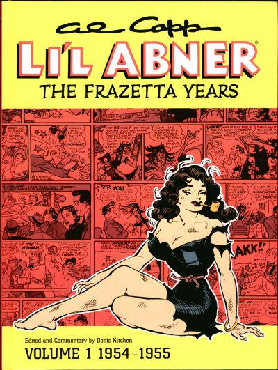 Cover for Al Capp's Li'l Abner: The Frazetta Years (Dark Horse, 2003 series) #1