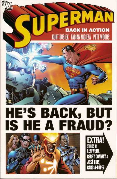 Cover for Superman: Back in Action (DC, 2007 series)