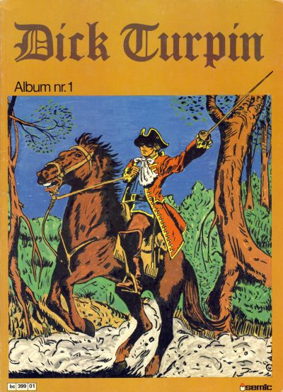 Cover for Dick Turpin (Semic, 1979 series) #1