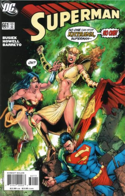 Cover for Superman (DC, 2006 series) #661
