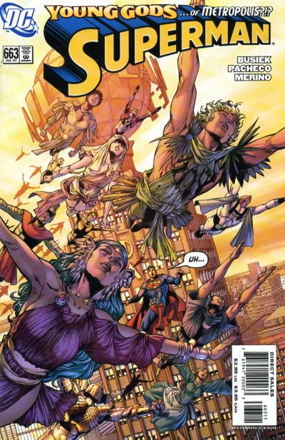Cover for Superman (DC, 2006 series) #663