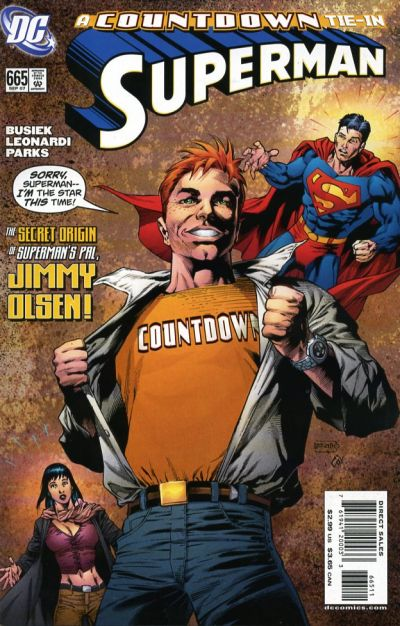 Cover for Superman (DC, 2006 series) #665