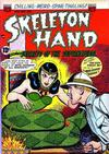 Cover for Skeleton Hand in Secrets of the Supernatural (American Comics Group, 1952 series) #2