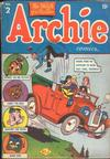 Cover for Archie Comics (Archie, 1942 series) #2