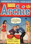 Cover for Archie Comics (Archie, 1942 series) #13