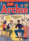 Cover for Archie Comics (Archie, 1942 series) #22