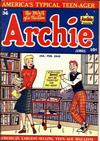 Cover for Archie Comics (Archie, 1942 series) #36