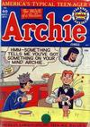 Cover for Archie Comics (Archie, 1942 series) #40