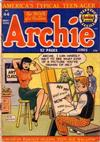 Cover for Archie Comics (Archie, 1942 series) #44