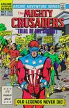 Cover for The Mighty Crusaders (Archie, 1983 series) #9 [Direct]