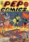 Cover for Pep Comics (Archie, 1940 series) #20