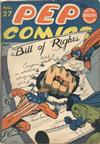 Cover for Pep Comics (Archie, 1940 series) #27