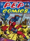 Cover for Pep Comics (Archie, 1940 series) #37