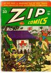 Cover for Zip Comics (Archie, 1940 series) #33