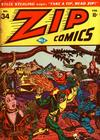 Cover for Zip Comics (Archie, 1940 series) #34