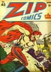Cover for Zip Comics (Archie, 1940 series) #45
