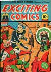Cover for Exciting Comics (Pines, 1940 series) #42