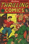 Cover for Thrilling Comics (Pines, 1940 series) #54
