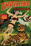 Cover for Thrilling Comics (Pines, 1940 series) #58