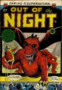 Cover Thumbnail for Out of the Night (American Comics Group, 1952 series) #14