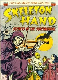 Cover Thumbnail for Skeleton Hand in Secrets of the Supernatural (American Comics Group, 1952 series) #1