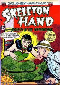 Cover Thumbnail for Skeleton Hand in Secrets of the Supernatural (American Comics Group, 1952 series) #2
