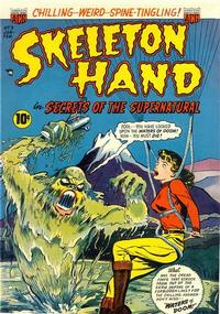 Cover Thumbnail for Skeleton Hand in Secrets of the Supernatural (American Comics Group, 1952 series) #3