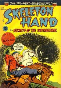 Cover Thumbnail for Skeleton Hand in Secrets of the Supernatural (American Comics Group, 1952 series) #4