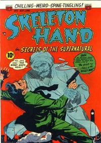 Cover Thumbnail for Skeleton Hand in Secrets of the Supernatural (American Comics Group, 1952 series) #5