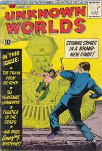 Cover Thumbnail for Unknown Worlds (American Comics Group, 1960 series) #1